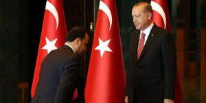 Erdoğan'ın önünde eğildiği fotoğraf için açıklama yaptı