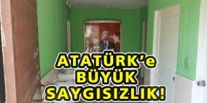 Sarıyer'de Atatürk'e büyük saygısızlık!