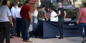 Mersin'de canlı bomba vurularak öldürüldü