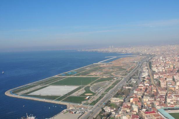 İstanbul'daki dolgu alanların büyüklüğü Heybeliada'yı geçti!