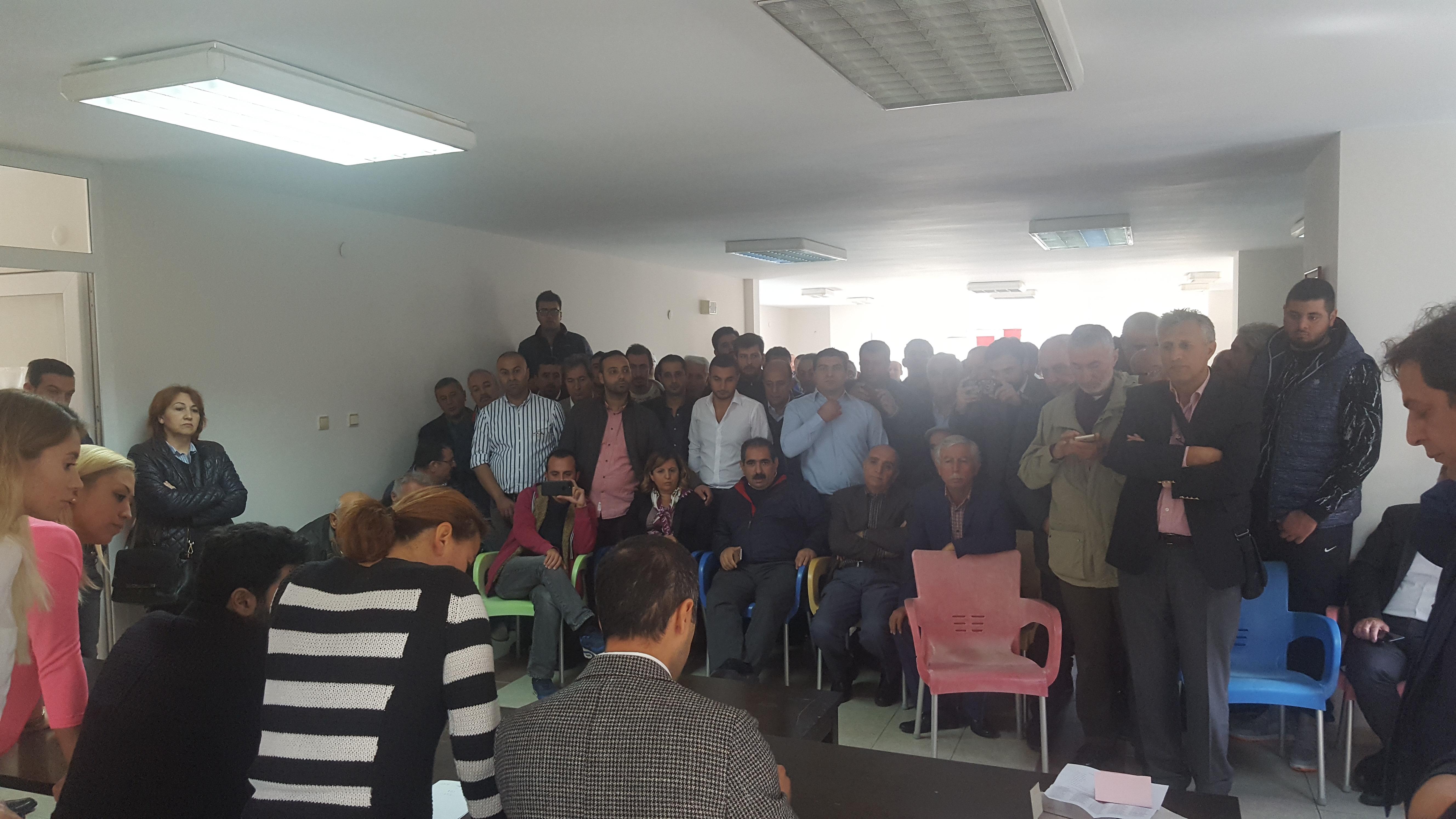 Zekeriyaköy'lü CHP'lilerden yalanlama