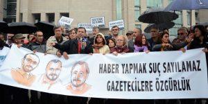 """""""Türkiye Gazeteciler Hapishanesi'ne dönüştü"""""""