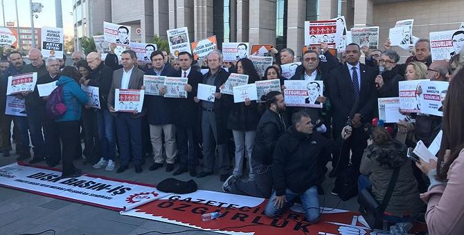Cumhuriyet davası öncesi açıklama: 182 gazeteci içerde