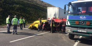Sarıyer'de feci kaza, ölü ve yaralılar var!