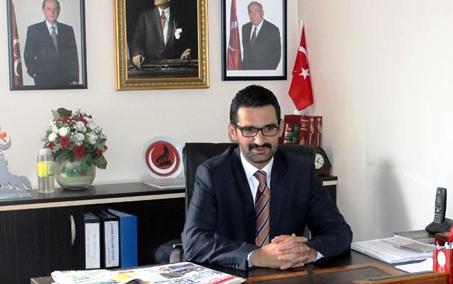 İlçe Başkanından Cumhuriyet Bayramı mesajı.
