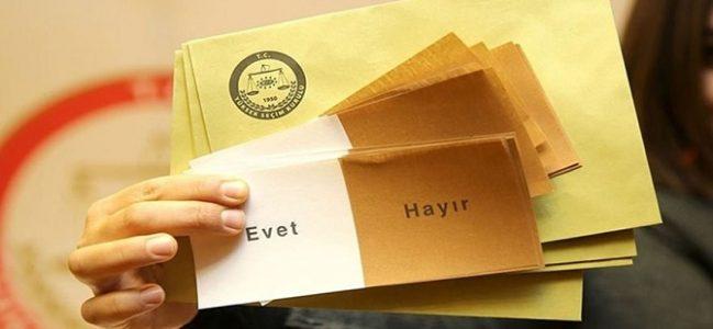 CHP'nin referandum anketindan çarpıcı sonuç!