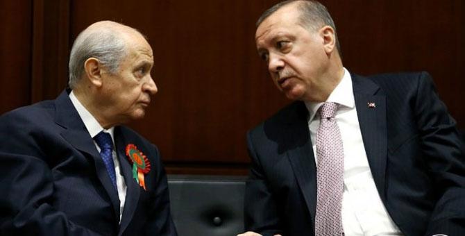 Erdoğan'dan Bahçeli'ye sert sözler