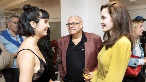 Angelina Jolie ile Tuba Büyüküstün'ün Los Angeles'ta buluştu
