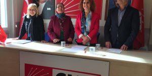 CHP Sarıyer'de kadın kollarına ilk aday