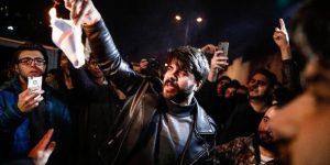 İstinye'de Kudüs kararı protestosu