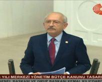 Kemal Kılıçdaroğlu'ndan Meclis'te sert açıklamalar