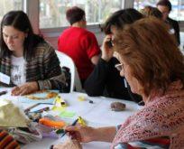 Girişimci Kadın Kooperatifi'nden atölye çalışması
