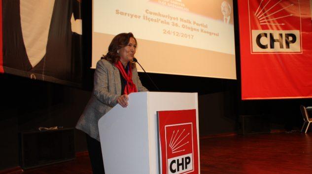 Sevim Yalınkılıç CHP'nin yeni ilçe başkanı