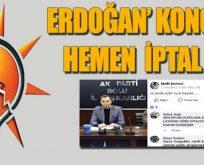 O paylaşım AKP'yi karıştırdı!