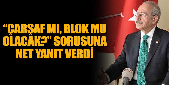 Kılıçdaroğlu: Kurultaydan sonra yeni bir kadro ve MYK çıkacak