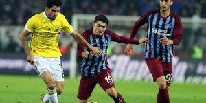 Trabzonspor ile Fenerbahçe puanları paylaştı