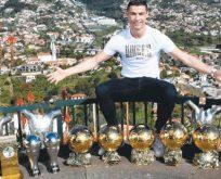 Ronaldo gövde gösterisi yaptı
