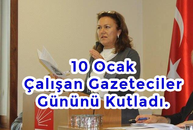 CHP İlçe başkanı Yalınkılıç gazetecileri unutmadı!