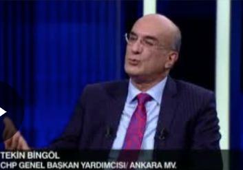 CHP'li Tekin Bingöl'den 'çarşaf liste' açıklaması