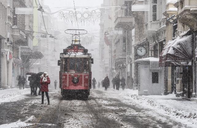 Sibirya soğukları Türkiye'ye geliyor…