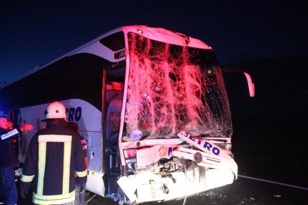 Yine Metro Turizm yine kaza: Çok sayıda yaralı var