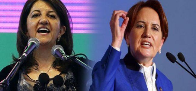 """HDP'den Meral Akşener'in """"ittifak' iddiasına FLAŞ yanıt!"""