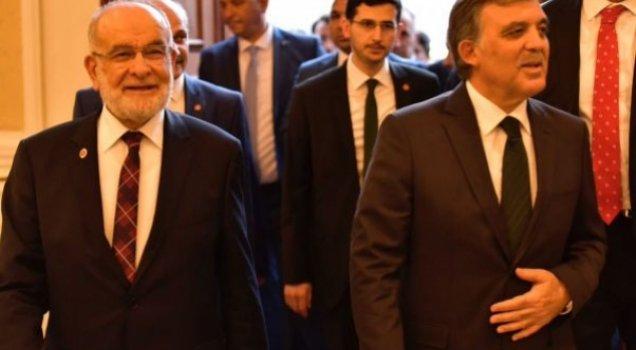 Karamollaoğlu'ndan Abdullah Gül açıklaması