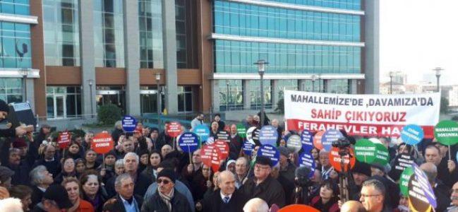 """Sarıyer halkından İBB avukatlarına """"işgalci"""" tepkisi!"""