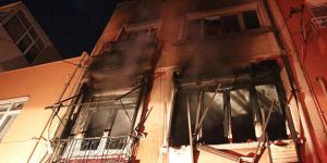 Sarıyer'de yangın dehşeti. 2 kişi öldü.