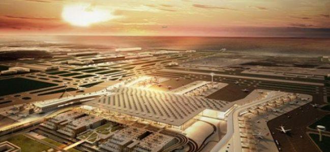 Üçüncü havalimanı şantiyesinde büyük gerilim