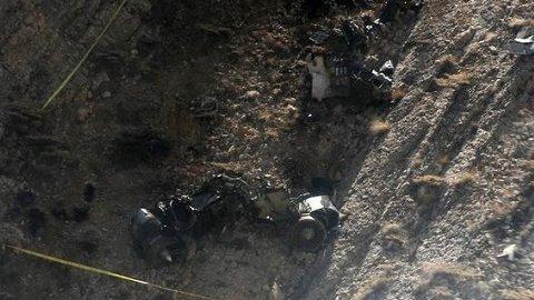 Türkiye'yi sarsan kazada dehşet görüntüler!