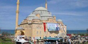 Camiye Erdoğan afişi astılar!
