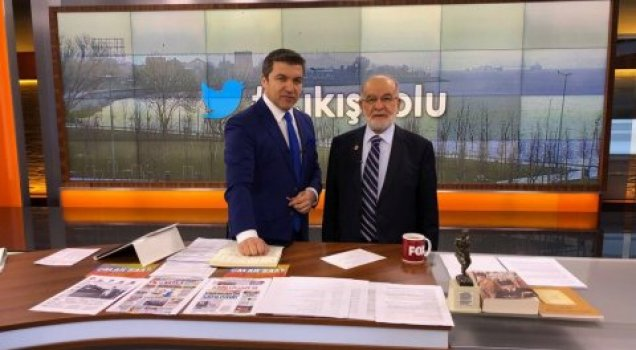Karamollaoğlu'ndan canlı yayında Abdullah Gül açıklaması