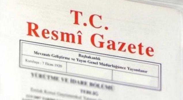 'Torba yasa' Resmi Gazete'de yayımlandı