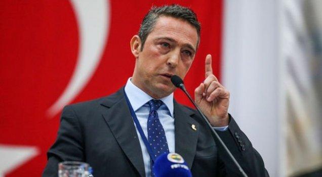 Ali Koç'tan Aziz Yıldırım'a: Fenerbahçe'yi kimse bölemez!