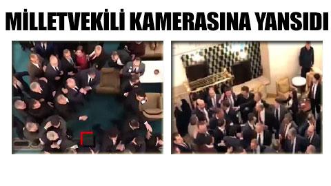 İşte Meclis'te yaşanan gergin anların görüntüleri