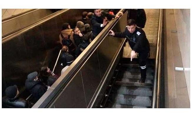 İTÜ durağında yürüyen merdiven dehşetini yaşayan o yolcu konuştu