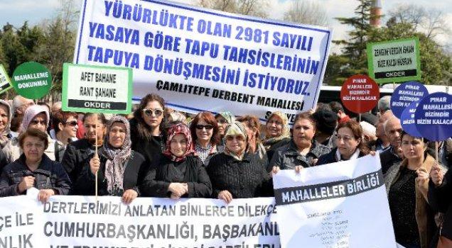 İBB önünde protesto: Artık karşılarında cahil yok