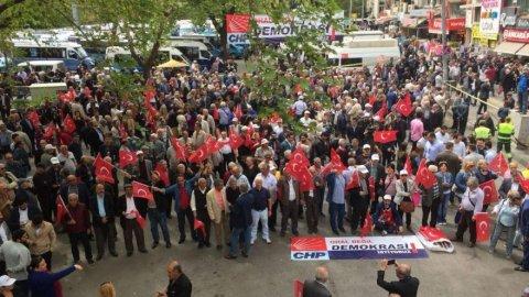 CHP Ankara: Sabır testisi kırıldı