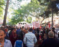 80 bin Ayazağalı Salih Bayraktar'a isyan etti