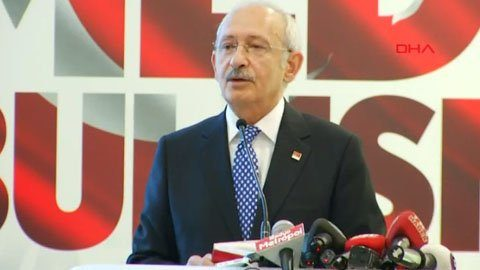 Kılıçdaroğlu: 'Yönetemiyoruz, seçime gidelim' diyecekler.