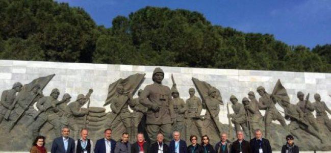 Sarıyerli muhtarlardan Çanakkale ziyareti