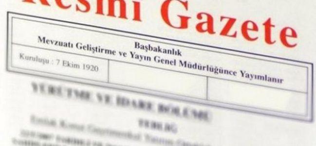 Cumhurbaşkanlığı geçici aday listesi Resmi Gazete'de