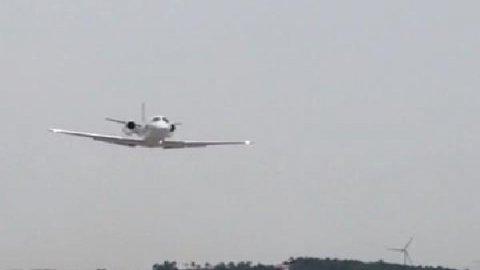 Yeni Havalimanı'nda ilk kontrol uçuşu yapıldı