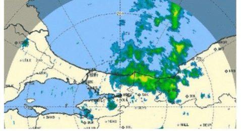 Meteoroloji uyardı: İstanbul'a doğru ilerliyor