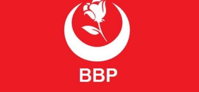 BBP, 'Satışa geldik'