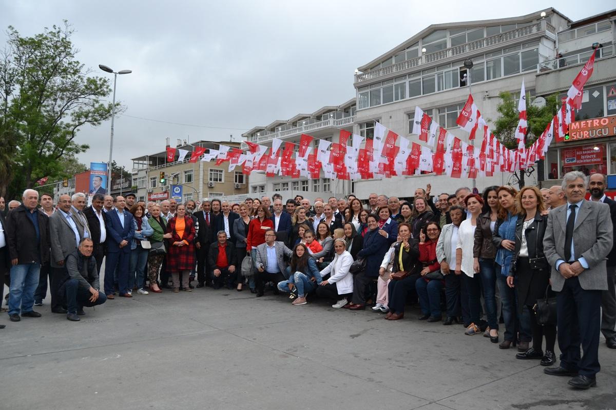 CHP Sarıyer Seçim Çalışmalarına Devam Ediyor.