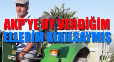Kendini yakmaya çalışmıştı… O çiftçi konuştu