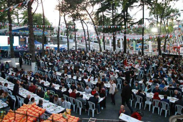 Sarıyer'de Ramazan coşkusu