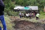 Bursa'da otobüs devrildi: Ölü ve yaralılar var